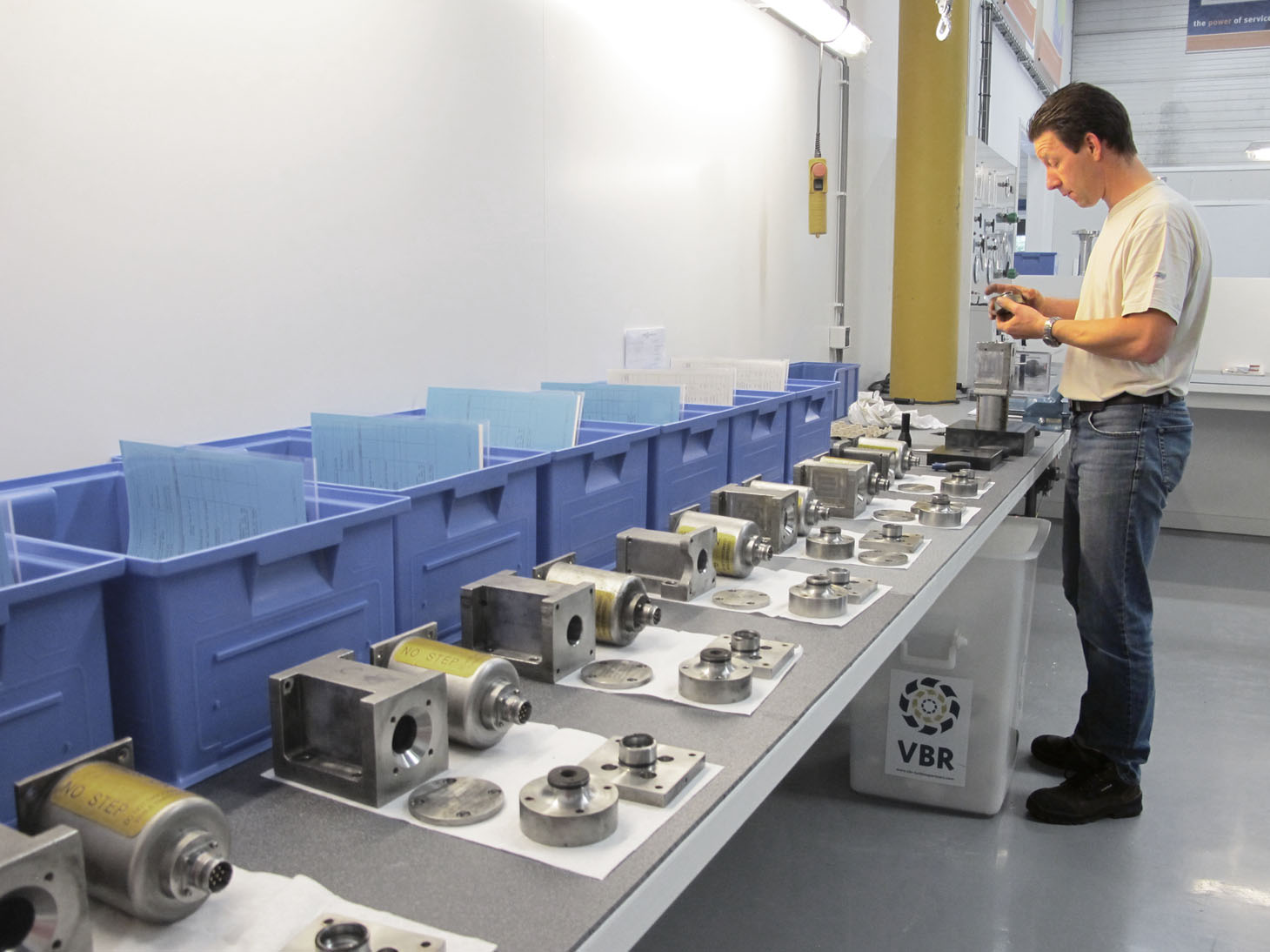 Meggitt OEM overhauls at VBR Turbine Partners, Netherlands